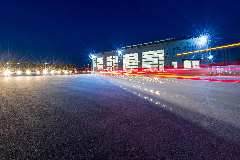 Rotthaus Nutzfahrzeug Service in Everswinkel. Werbeshooting durchgeführt von der Werbeagentur Medien Formen Werte aus Münster