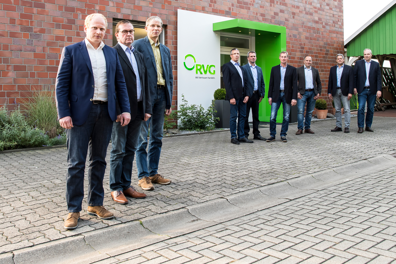 Mitarbeiterfoto bei einem Werbefotoshooting für die RVG, durch geführt von der Werbeagentur Medien Formen Werte aus Münster