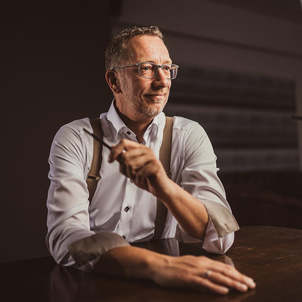 Porträt von Guido Kretschmer - Gründer der Werbeagentur Medien Formen Werte aus Münster