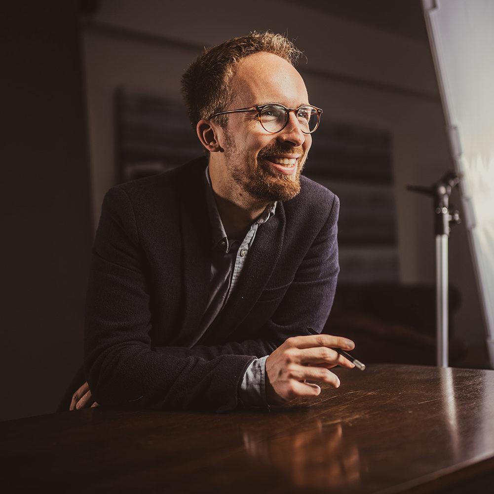 Porträt von Kai Pohlkamp - Gründer der Werbeagentur Medien Formen Werte aus Münster